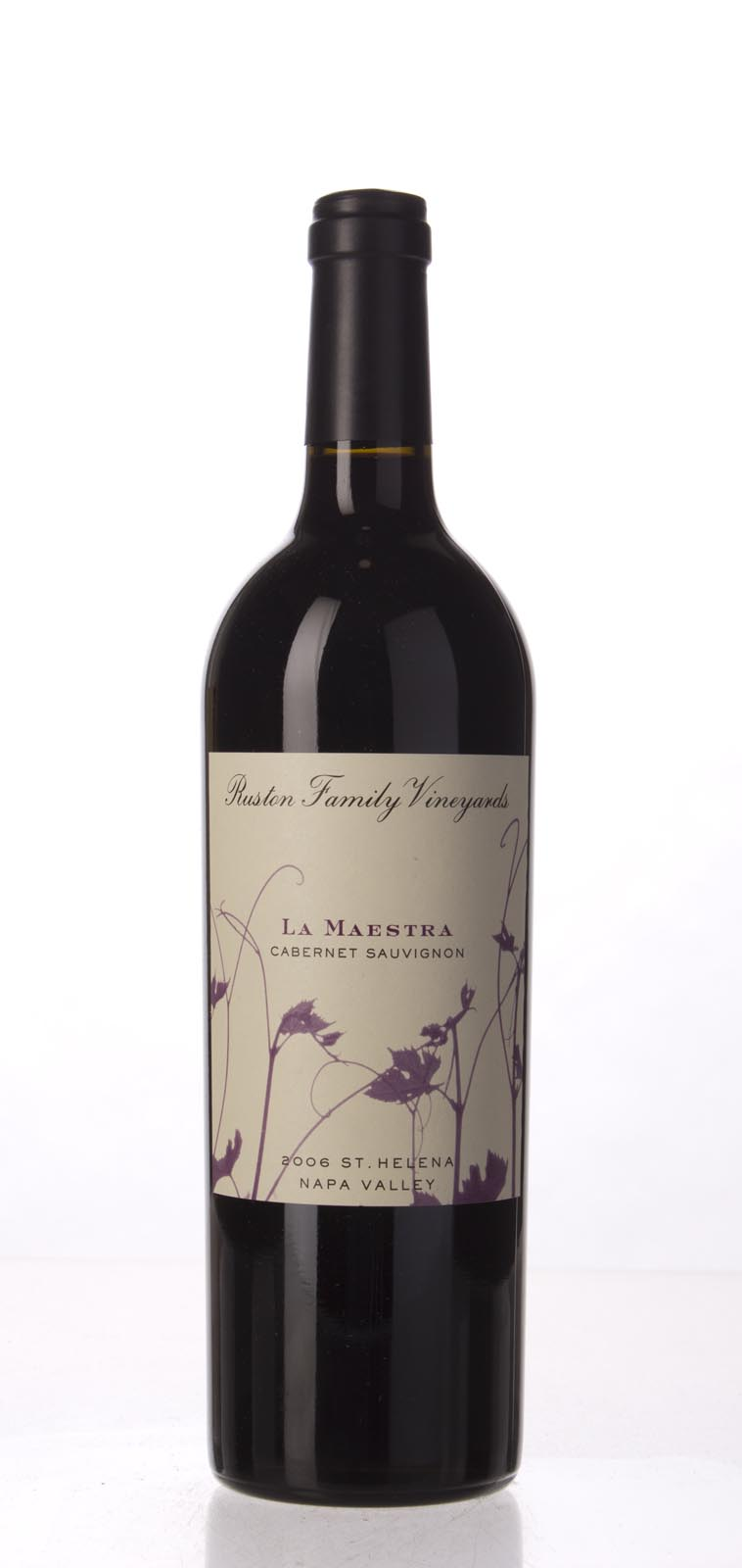 Ruston Family Vineyards La Maestra 2006, 750mL (WA89) from The BPW - Merchants of rare and fine wines.