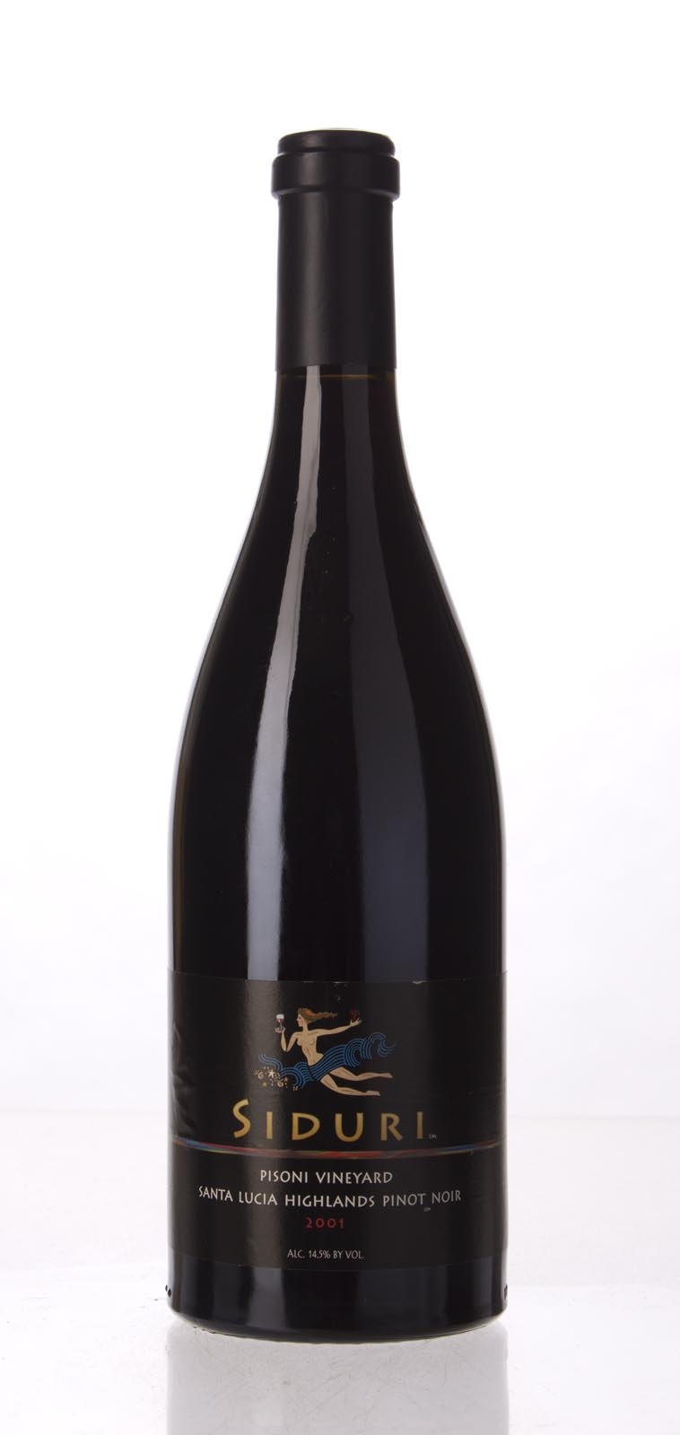 Siduri Pinot Noir Pisoni Vineyard 2001, 750mL (WS91) from The BPW - Merchants of rare and fine wines.