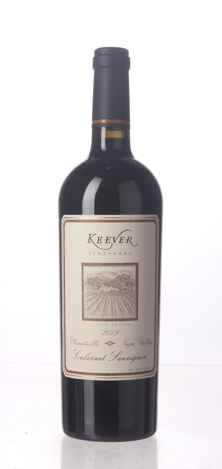Keever Cabernet Sauvignon Yountville 2009, 750mL (WA94+, WS92) from The BPW - Merchants of rare and fine wines.