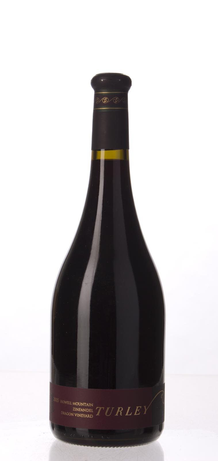 Turley Wine Cellars Zinfandel Dragon Vineyard 2005, 750mL (WA90-92, ST91) from The BPW - Merchants of rare and fine wines.