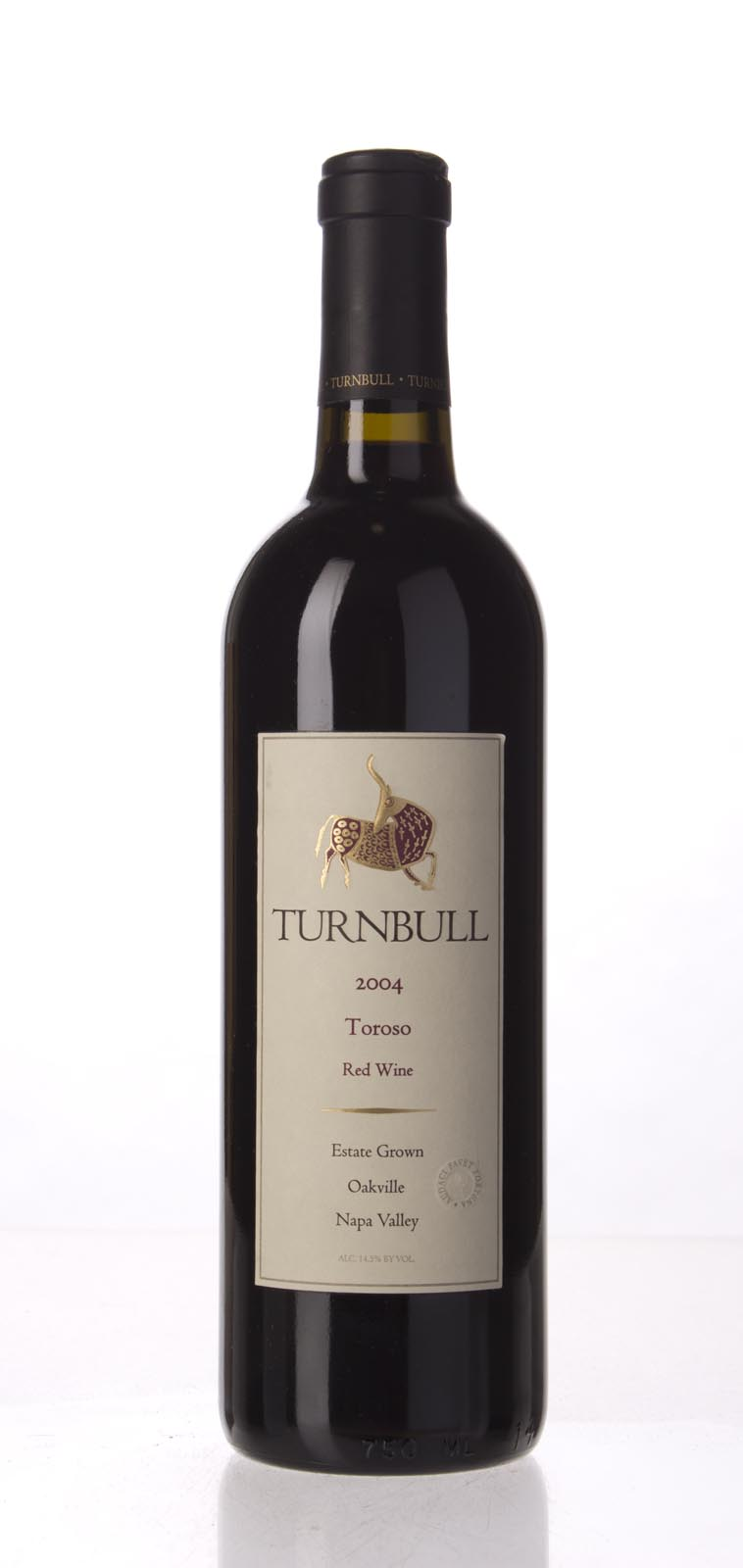 Turnbull Wine Cellars Proprietary Red Toroso 2004, 750mL () from The BPW - Merchants of rare and fine wines.