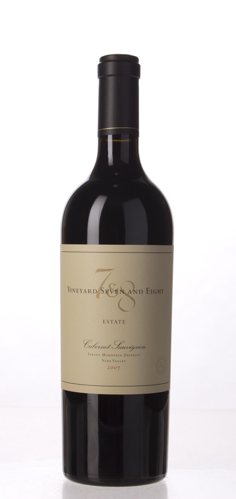 Vineyard 7 & 8 Cabernet Sauvignon Estate 2007, 750mL (WA94+, ST93, WS93) from The BPW - Merchants of rare and fine wines.