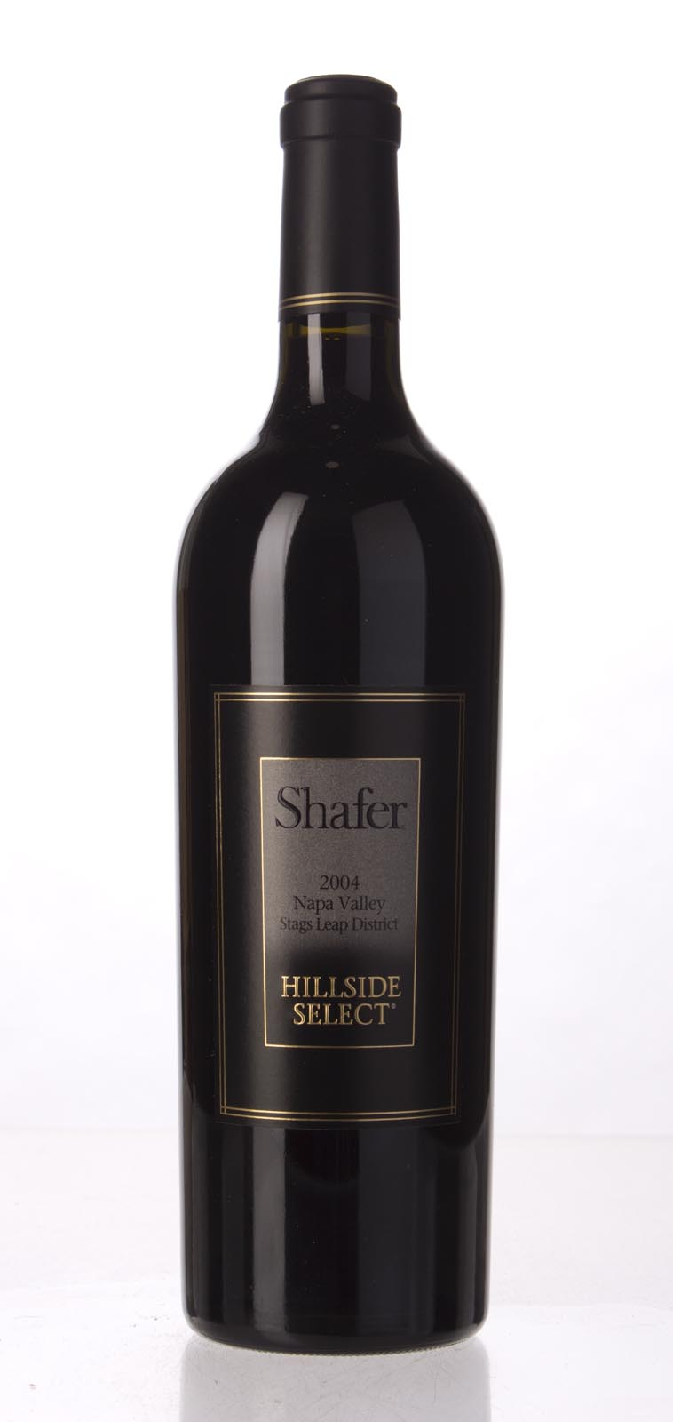 Shafer Cabernet Sauvignon Hillside Select 2004, 750mL (WA98+) from The BPW - Merchants of rare and fine wines.