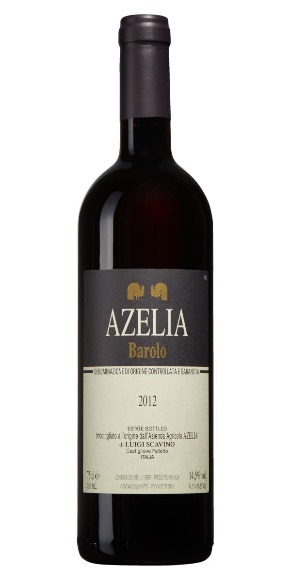 Azelia Barolo 2012,  (JS93) from The BPW - Merchants of rare and fine wines.