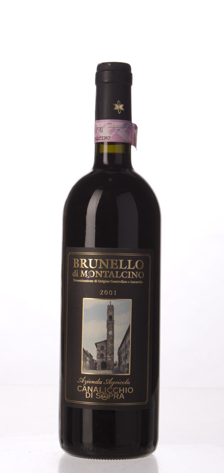 Canalicchio di Sopra Brunello di Montalcino 2001, 750mL (WA91, ST92) from The BPW - Merchants of rare and fine wines.
