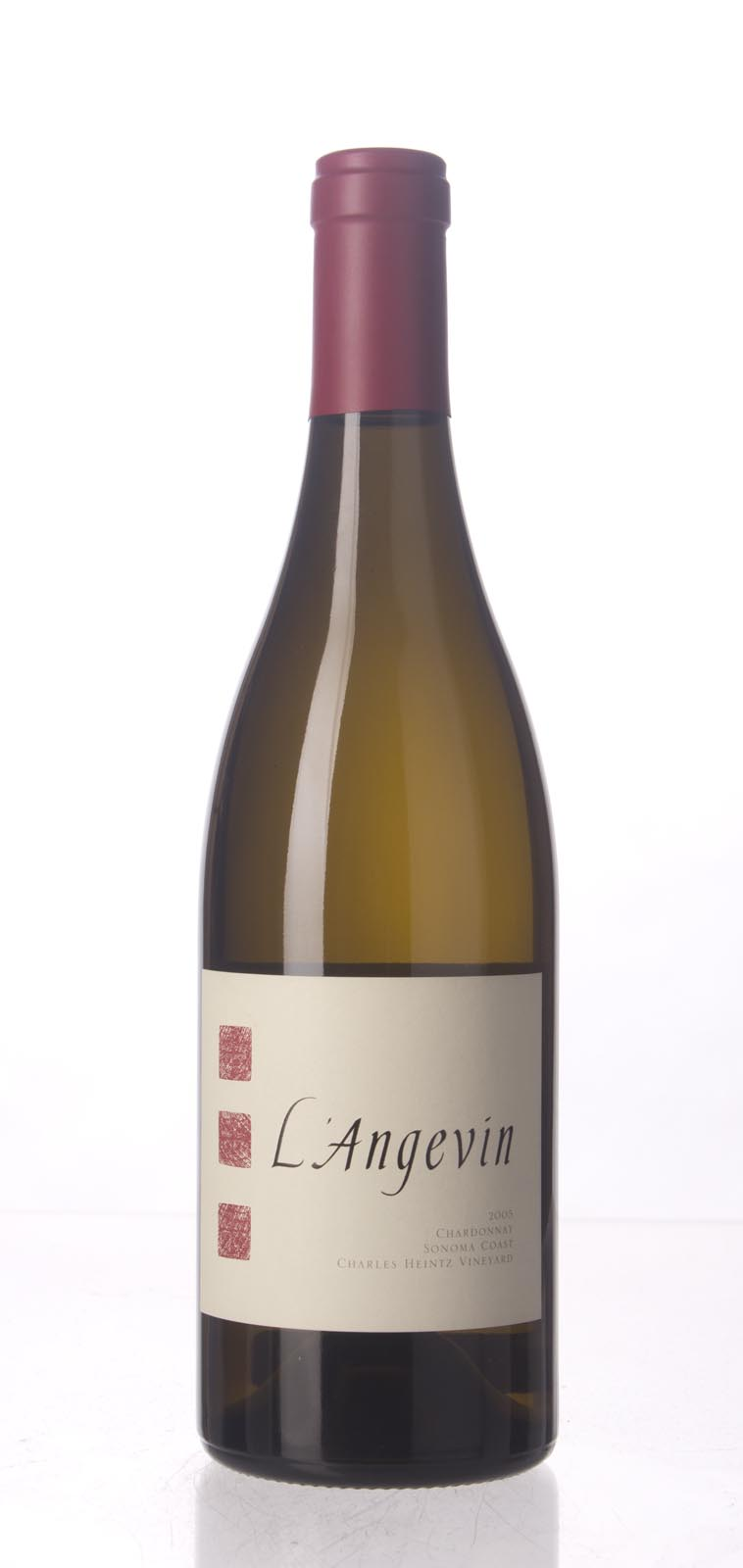 L`Angevin Chardonnay Charles Heintz Vineyard 2005, 750mL (WA93) from The BPW - Merchants of rare and fine wines.