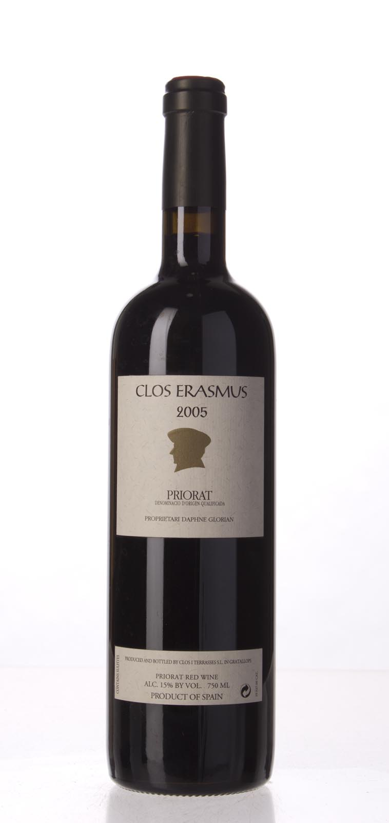 Clos I Terrasses Clos Erasmus 2005, 750mL (WA100) from The BPW - Merchants of rare and fine wines.