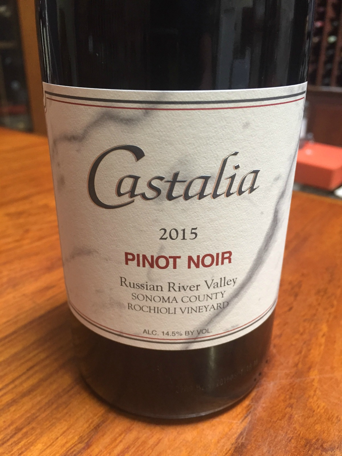 Castalia Pinot Noir Rochioli Vineyard 2015,  () from The BPW - Merchants of rare and fine wines.