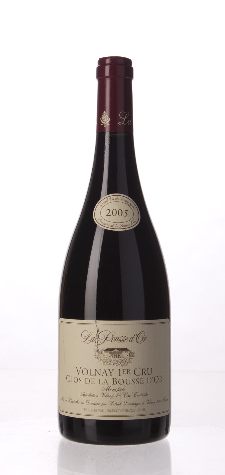Domaine de la Pousse d`Or Volnay Clos de la Bousse d`Or 2005, 750mL (WA92, ST90+) from The BPW - Merchants of rare and fine wines.