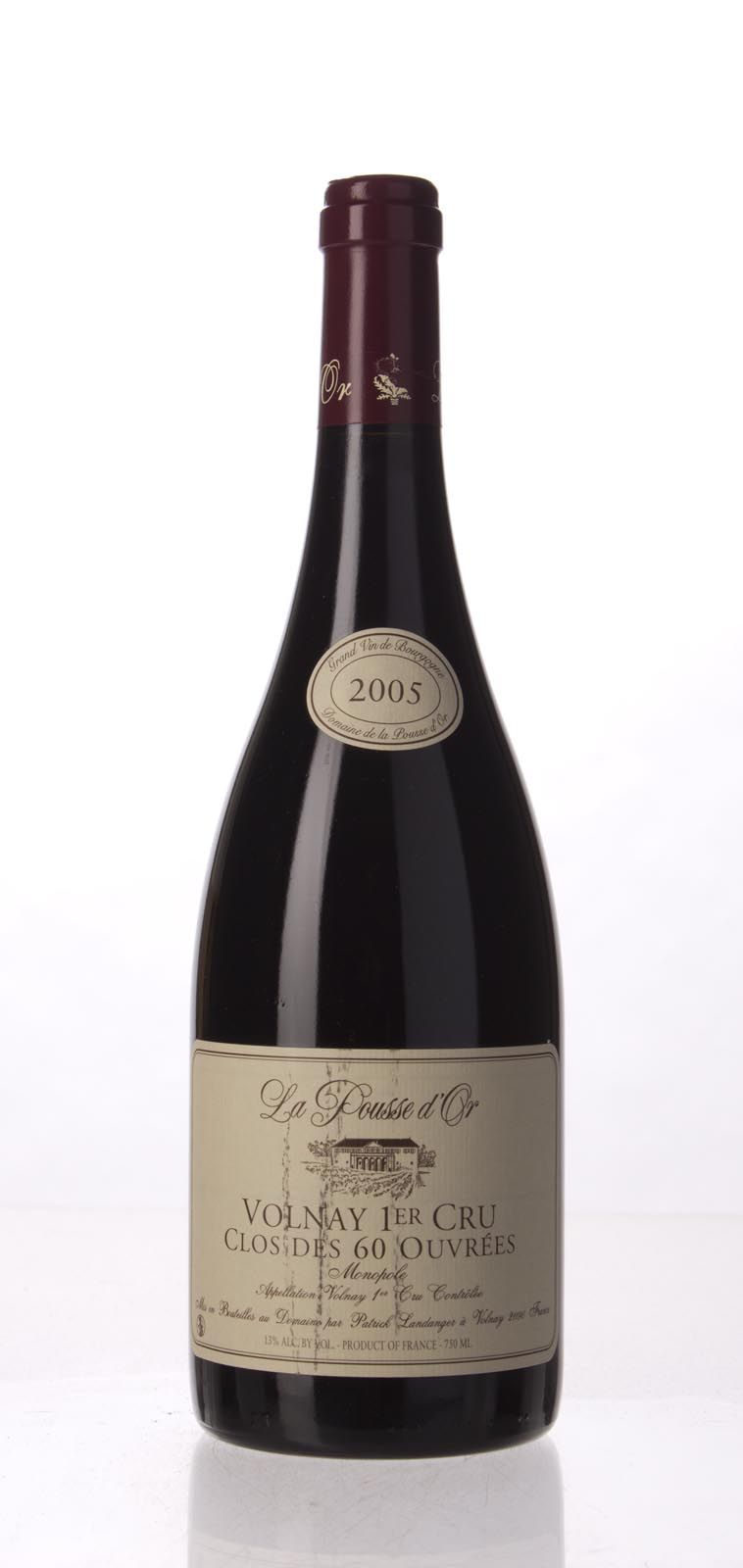 Domaine de la Pousse d`Or Volnay les Caillerets Clos des 60 Ouvrees 2005, 750mL (BH94, WA94, ST93) from The BPW - Merchants of rare and fine wines.