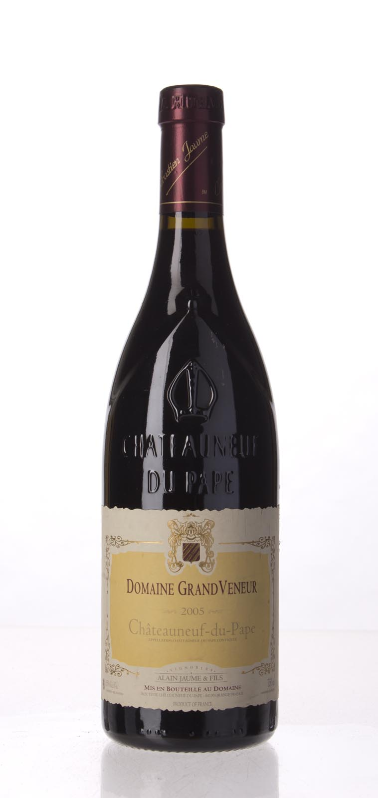 Domaine Grand Veneur Chateauneuf du Pape 2005, 750mL (WA93, WS92) from The BPW - Merchants of rare and fine wines.