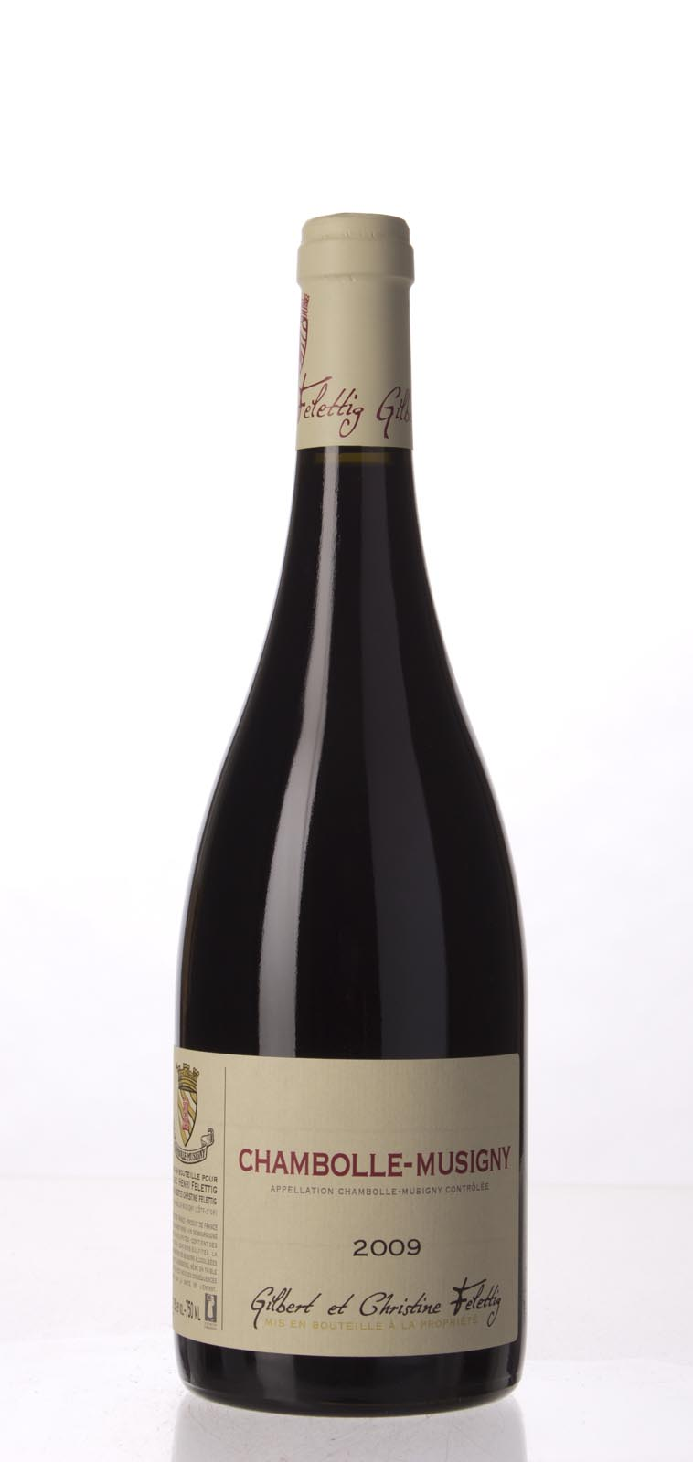 Felettig Chambolle Musigny 2009, 750mL () from The BPW - Merchants of rare and fine wines.