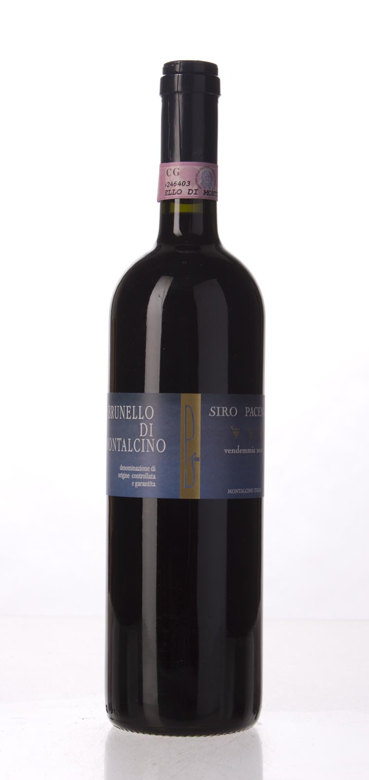 Siro Pacenti Brunello di Montalcino 2001, 750mL (WA95, WS97) from The BPW - Merchants of rare and fine wines.