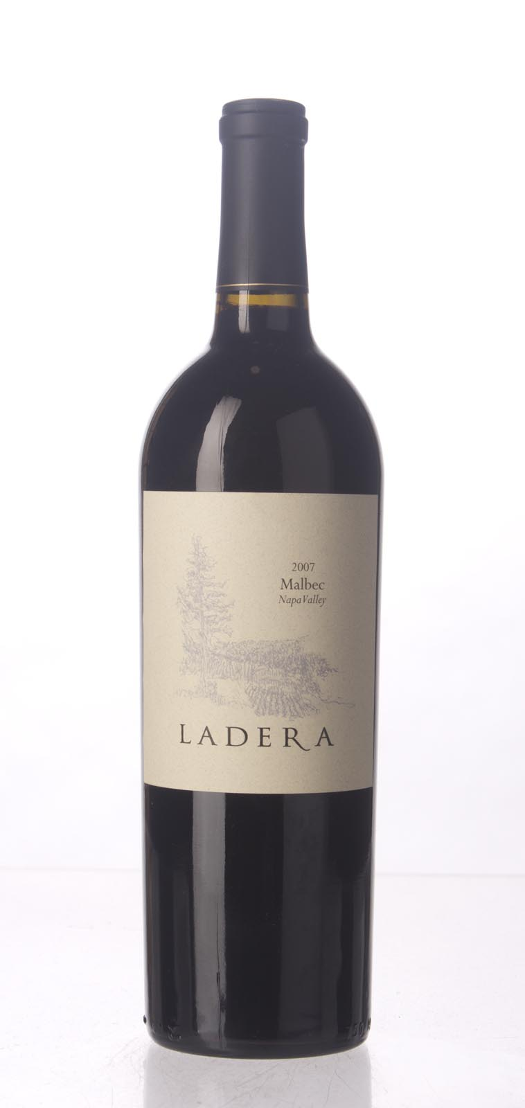 Ladera Malbec Napa Valley 2007, 750mL () from The BPW - Merchants of rare and fine wines.