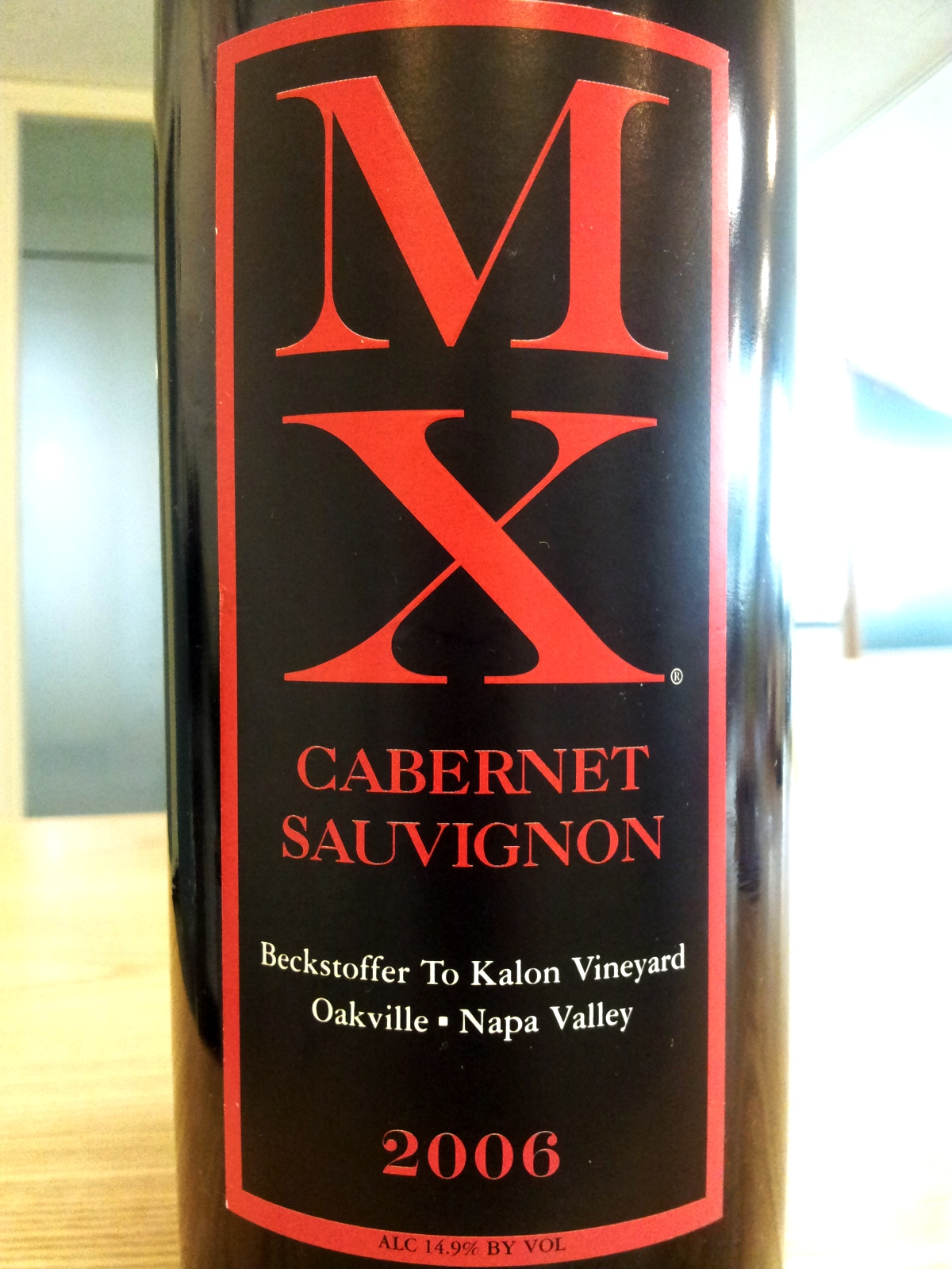 MX Wines Cabernet Sauvignon Beckstoffer To Kalon Vineyard 2009,  () from The BPW - Merchants of rare and fine wines.