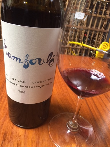 Chamboule Cabernet Franc Napa Valley 2014,  (WA93+) from The BPW - Merchants of rare and fine wines.