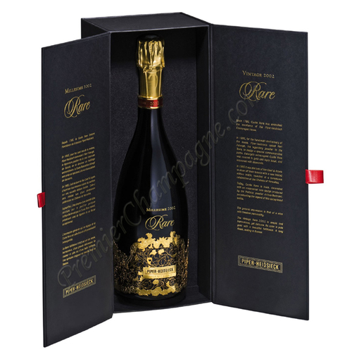 Piper Heidsieck Brut Cuvee Rare 1998, 1.5L (WS98) from The BPW - Merchants of rare and fine wines.