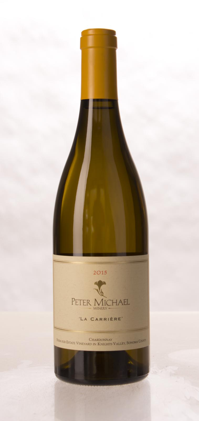 Peter Michael Winery Chardonnay la Carriere 2015, 750mL (WA95) from The BPW - Merchants of rare and fine wines.