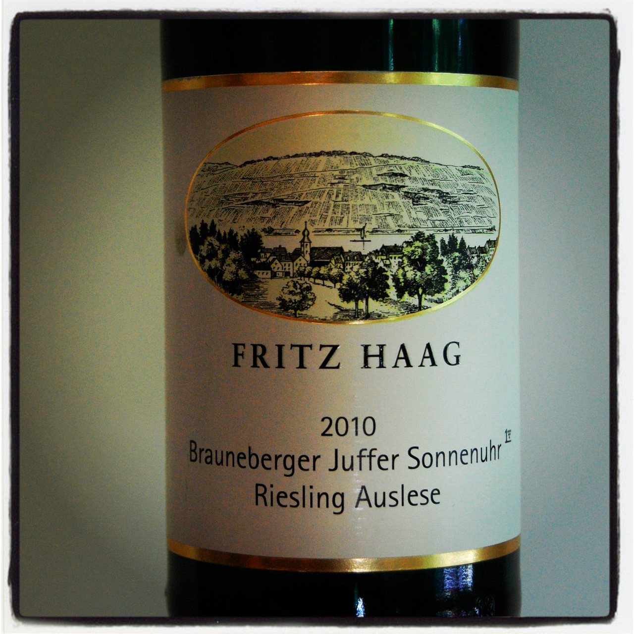 Fritz Haag Brauneberger Juffer Sonnenuhr Riesling Spatlese AP #7 2015,  (VN94) from The BPW - Merchants of rare and fine wines.