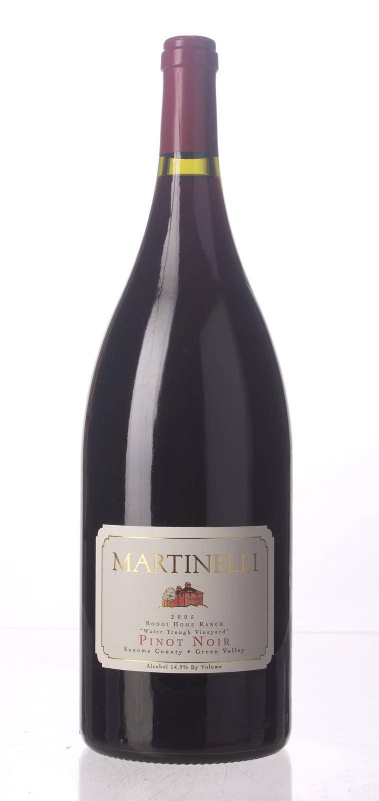 Martinelli Pinot Noir Bondi Home Ranch Water Trough Vineyard 2005, 1.5L (ST93, WS92) from The BPW - Merchants of rare and fine wines.