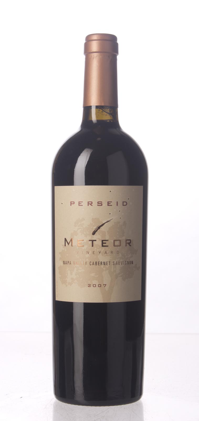 Meteor Vineyard Cabernet Sauvignon Perseid 2007, 750mL (WA93) from The BPW - Merchants of rare and fine wines.