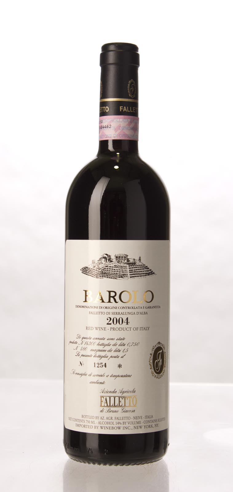 Bruno Giacosa Barolo Falletto 2004, 750mL (WA96, VN97, ST94) from The BPW - Merchants of rare and fine wines.