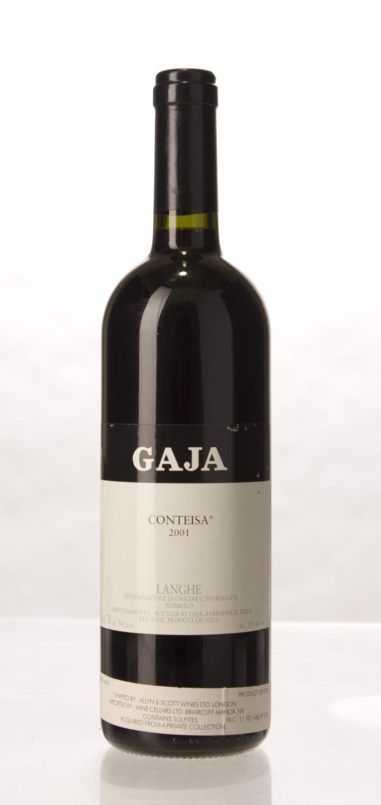 Gaja Conteisa 2001, 750mL (WA92, ST94, WS93) from The BPW - Merchants of rare and fine wines.