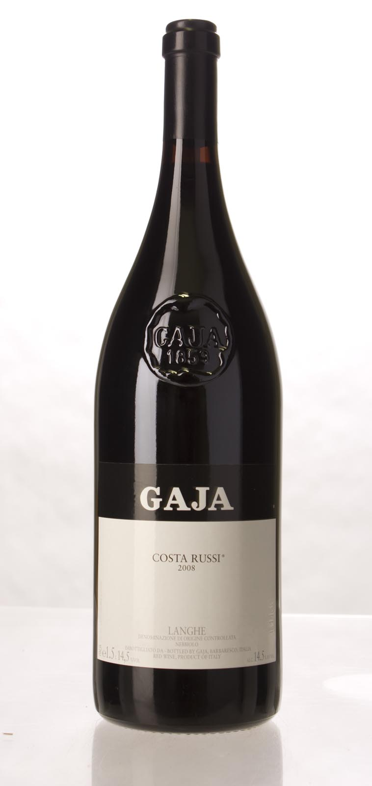 Gaja Costa Russi 2008, 1.5L (JS94, WA94, ST94+, WS93) from The BPW - Merchants of rare and fine wines.