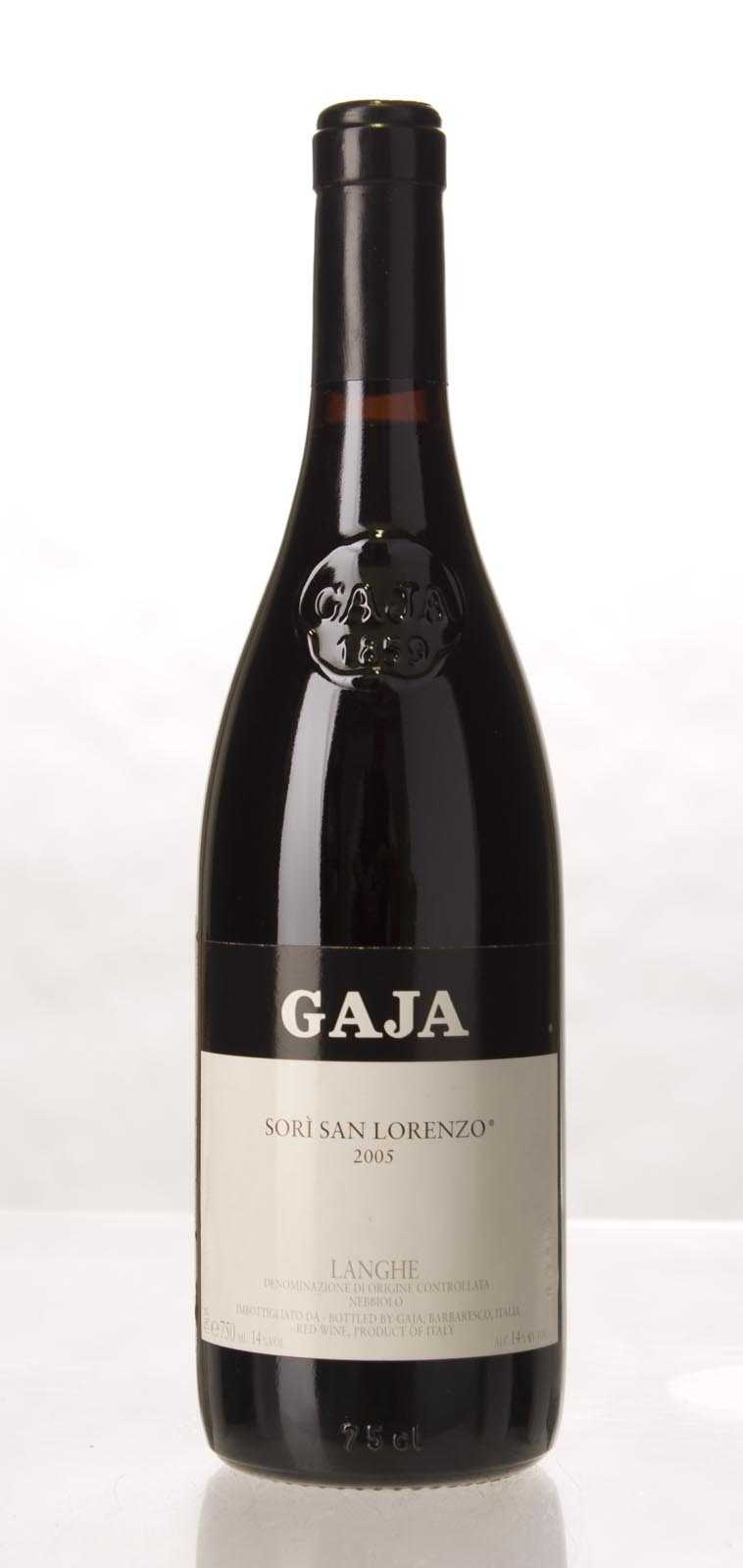 Gaja Sori San Lorenzo 2005, 750mL (WA96, VN97, JS96, WS95) from The BPW - Merchants of rare and fine wines.