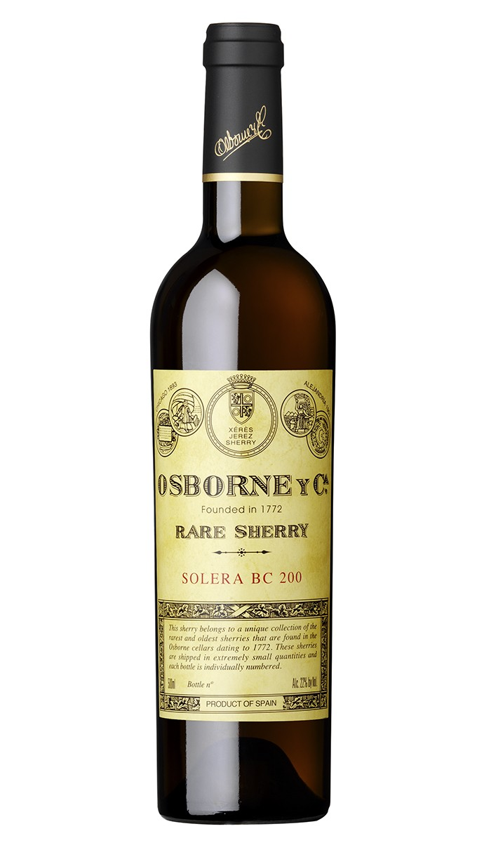 Bodegas Osborne Oloroso Solera BC 200 (1864) N.V.,  (WA96) from The BPW - Merchants of rare and fine wines.