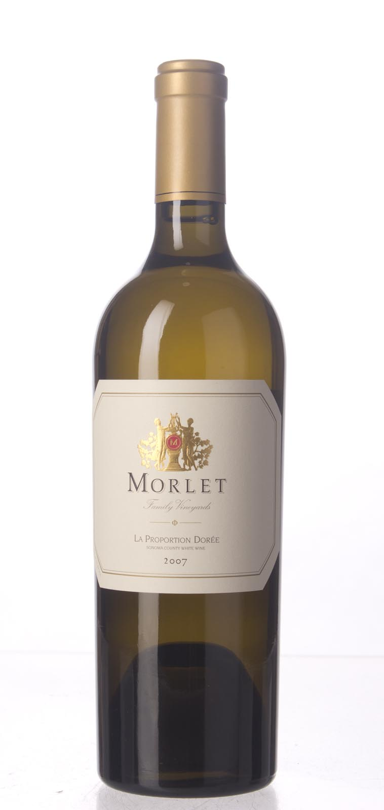 Morlet Family Estate Proprietary White La Proportion Doree 2007, 750mL (WA95, ST94) from The BPW - Merchants of rare and fine wines.