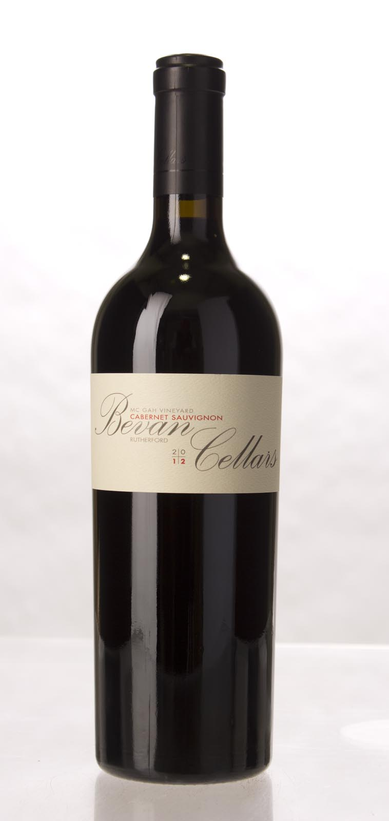 Bevan Cellars Cabernet Sauvignon McGah Vineyard 2012, 750mL (WA100) from The BPW - Merchants of rare and fine wines.