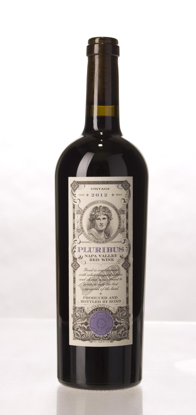 Bond Pluribus 2012, 750mL (JS98) from The BPW - Merchants of rare and fine wines.