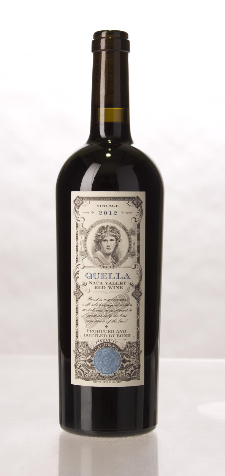 Bond Quella 2012, 750mL (WA98, JS97) from The BPW - Merchants of rare and fine wines.
