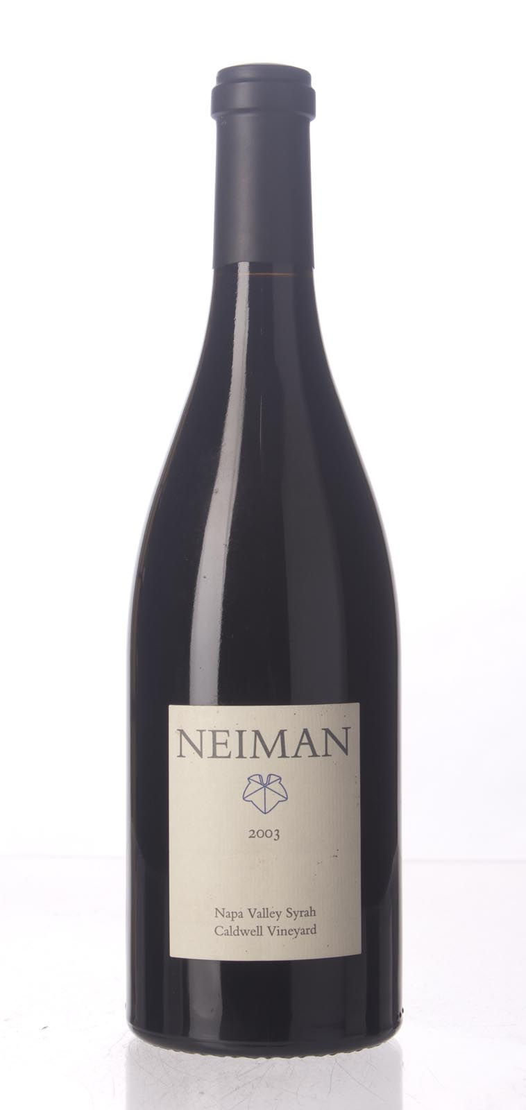 Neiman Cellars Syrah Caldwell Vineyard 2003, 750mL () from The BPW - Merchants of rare and fine wines.