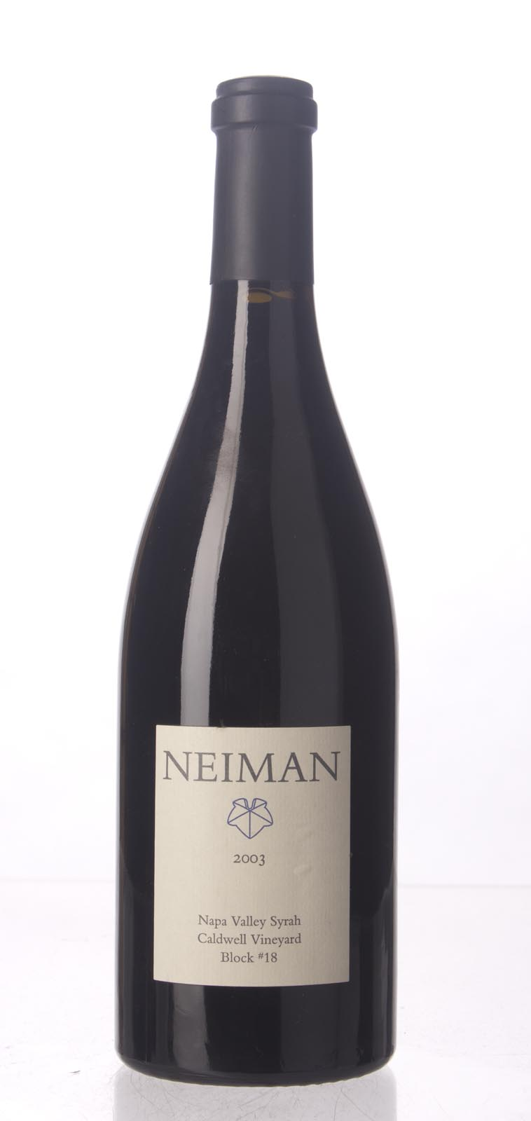 Neiman Cellars Syrah Caldwell Vineyard Block #18 2003, 750mL () from The BPW - Merchants of rare and fine wines.