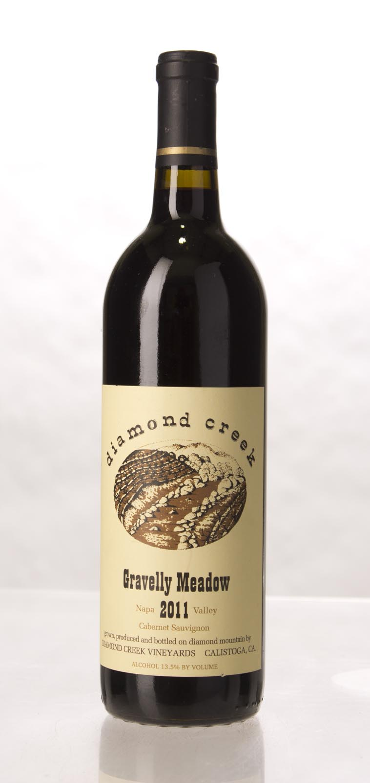 Diamond Creek Cabernet Sauvignon Gravelly Meadow 2011, 750mL (VN94, JS95) from The BPW - Merchants of rare and fine wines.