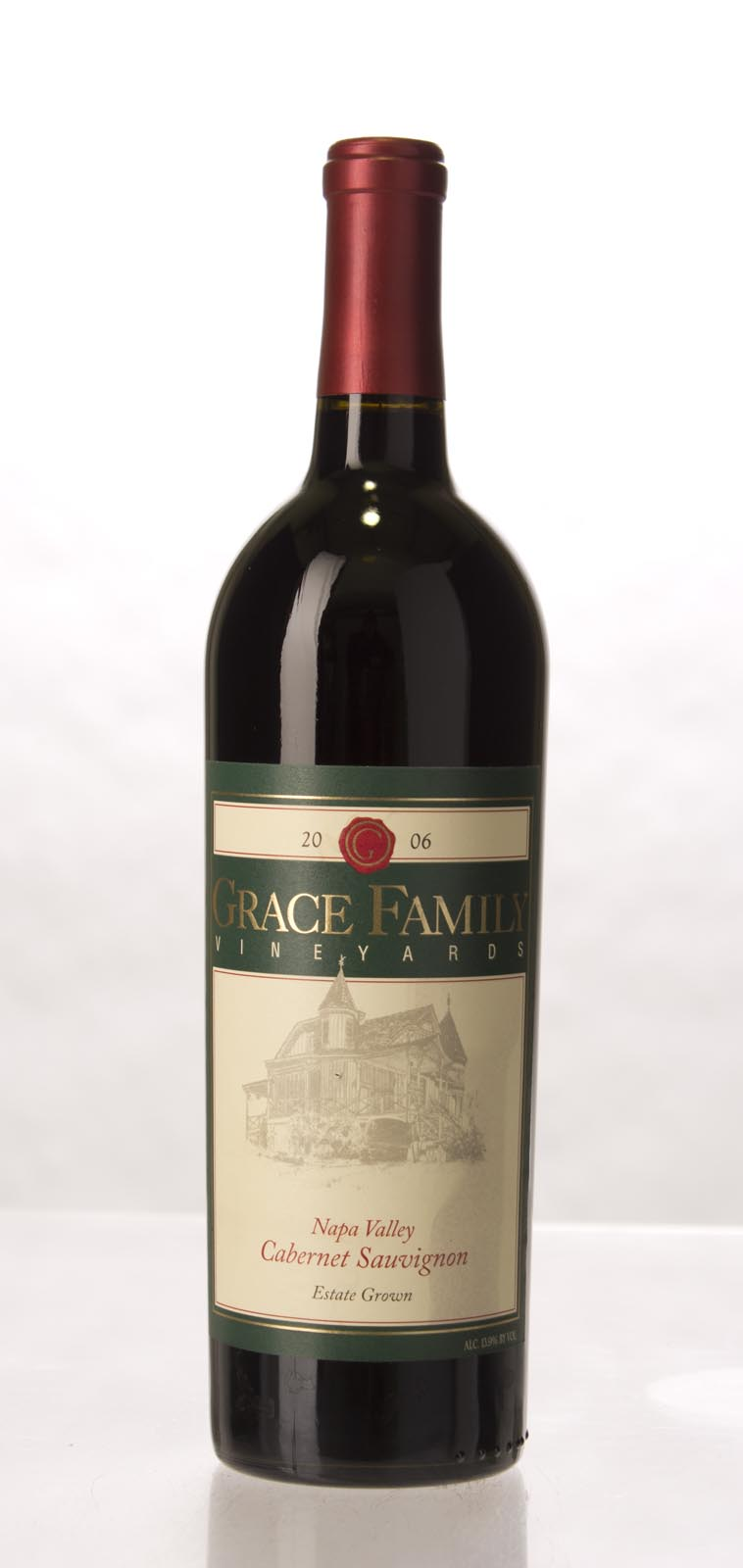 Grace Family Vineyard Cabernet Sauvignon 2006, 750mL (ST90+) from The BPW - Merchants of rare and fine wines.