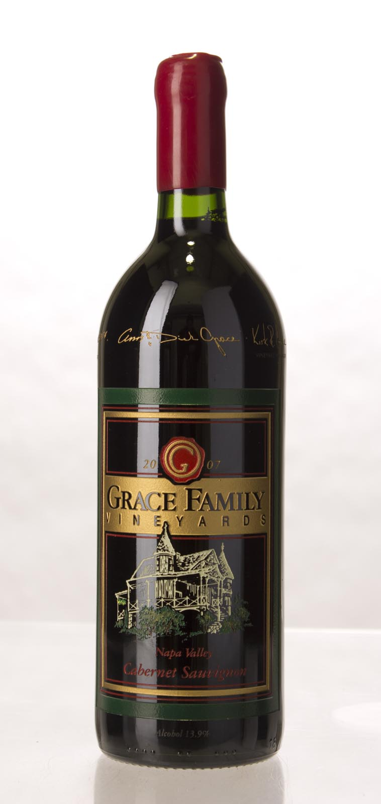 Grace Family Vineyard Cabernet Sauvignon 2007, 1L (WA92+, ST93) from The BPW - Merchants of rare and fine wines.