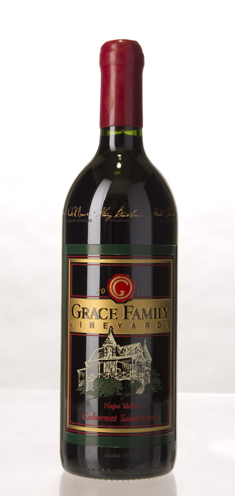 Grace Family Vineyard Cabernet Sauvignon 2011, 1L (JS94) from The BPW - Merchants of rare and fine wines.
