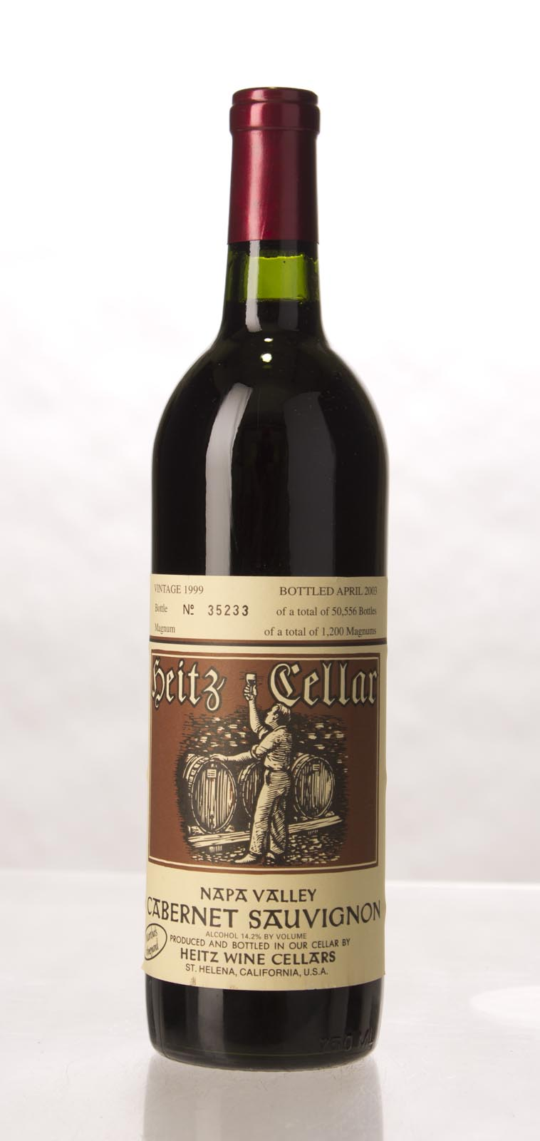 Heitz Cabernet Sauvignon Martha`s Vineyard 1999,  (WS92) from The BPW - Merchants of rare and fine wines.