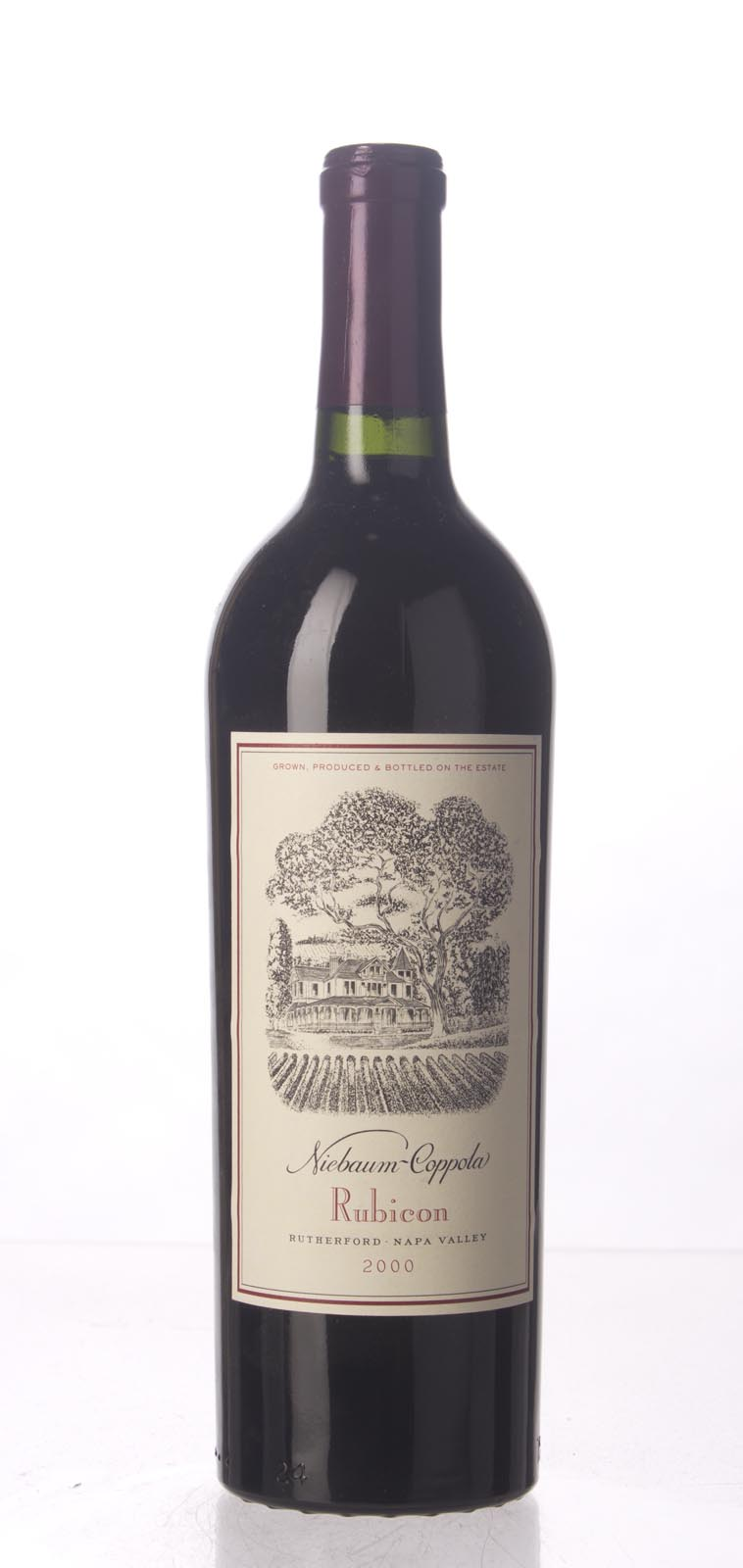 Niebaum Coppola Proprietary Red Rubicon 2000, 750mL (WS93) from The BPW - Merchants of rare and fine wines.