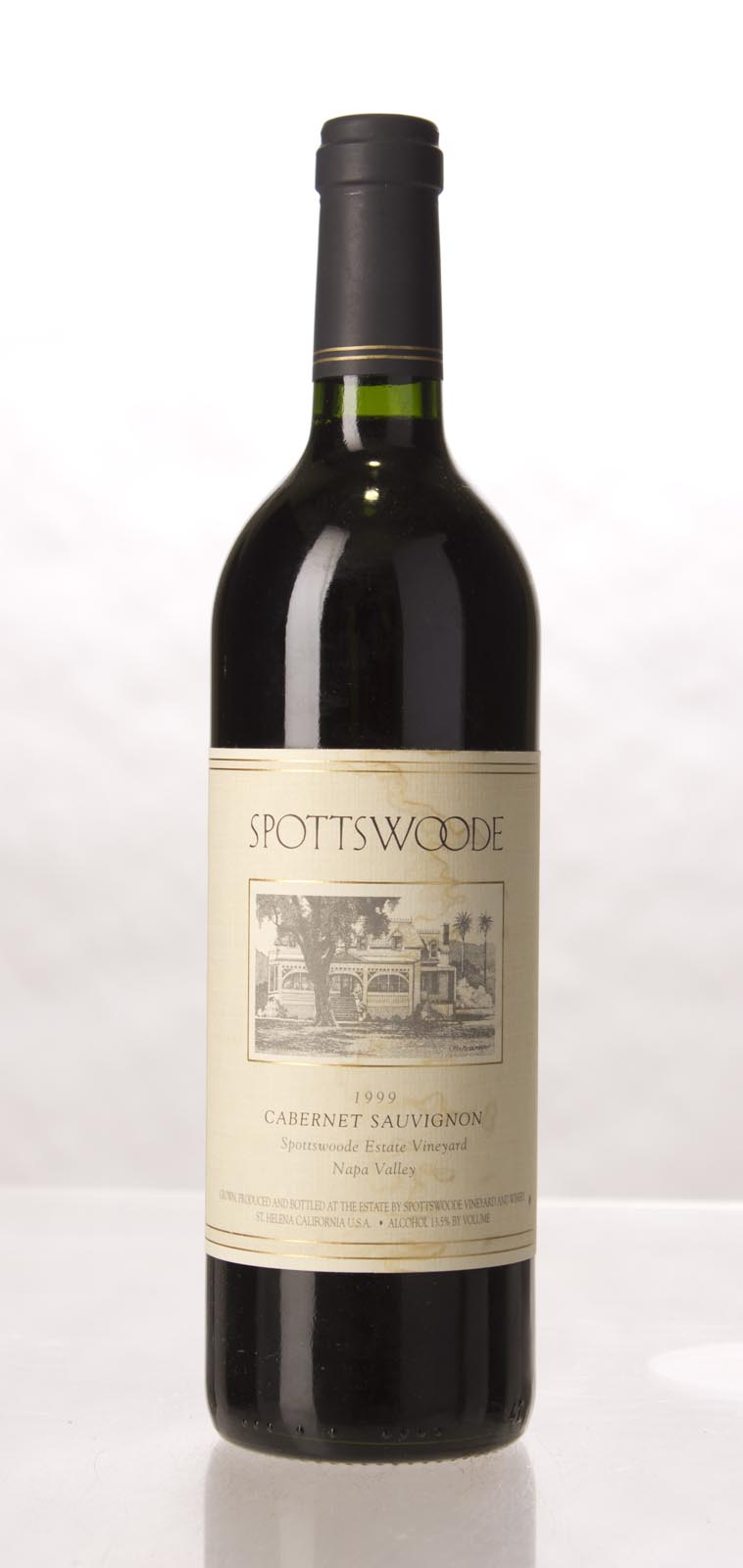 Spottswoode Cabernet Sauvignon Napa Valley 1999, 750mL (VN92, ST92, WS94) from The BPW - Merchants of rare and fine wines.