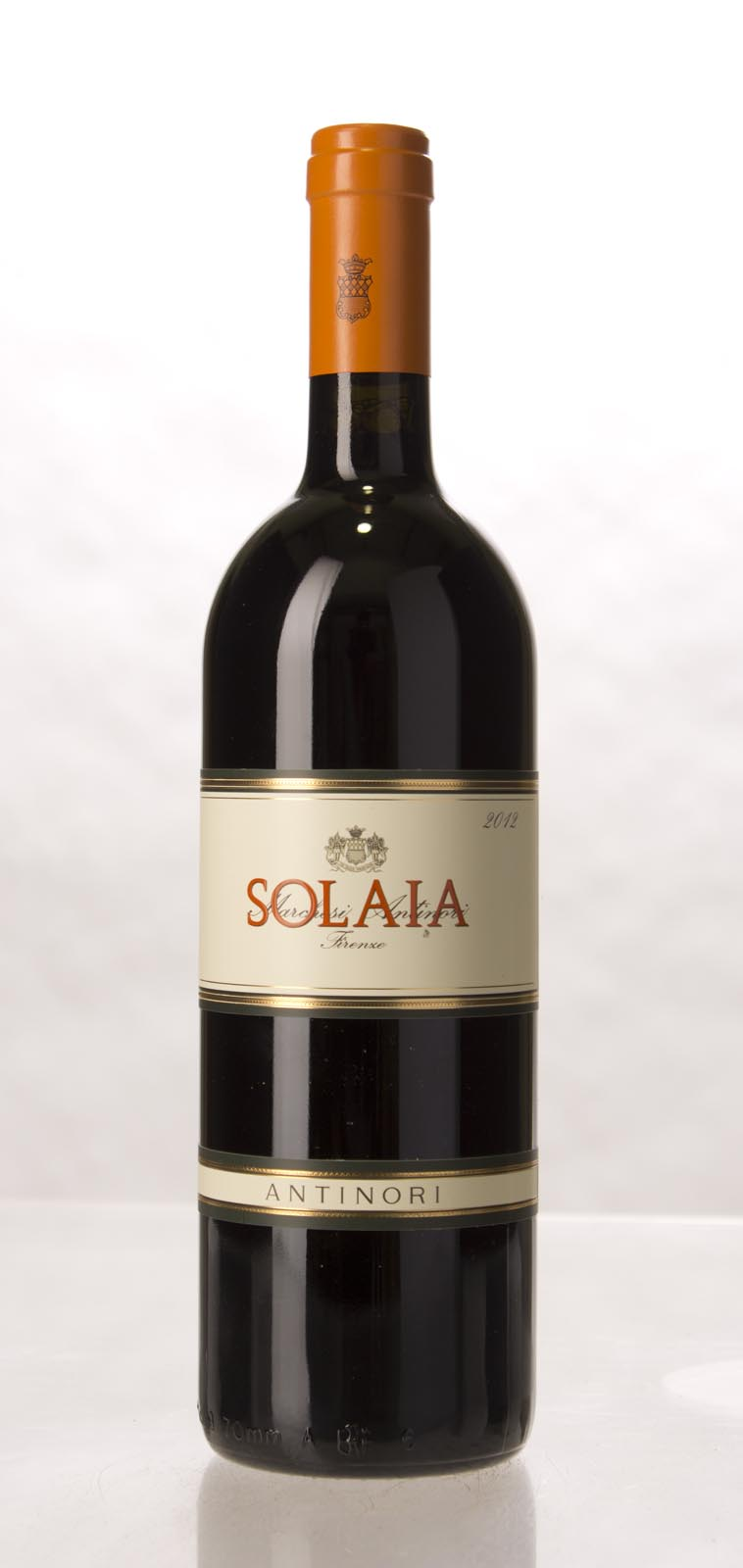 Antinori Solaia 2012,  (WA95, JS97) from The BPW - Merchants of rare and fine wines.