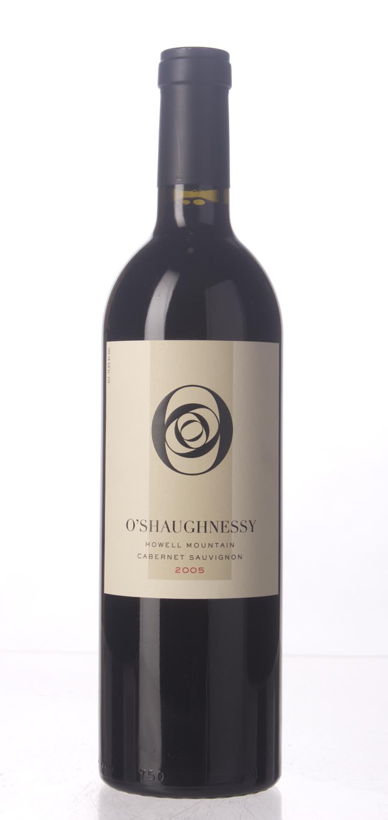 O`Shaughnessy Cabernet Sauvignon Howell Mountain 2005, 750mL (WA95) from The BPW - Merchants of rare and fine wines.