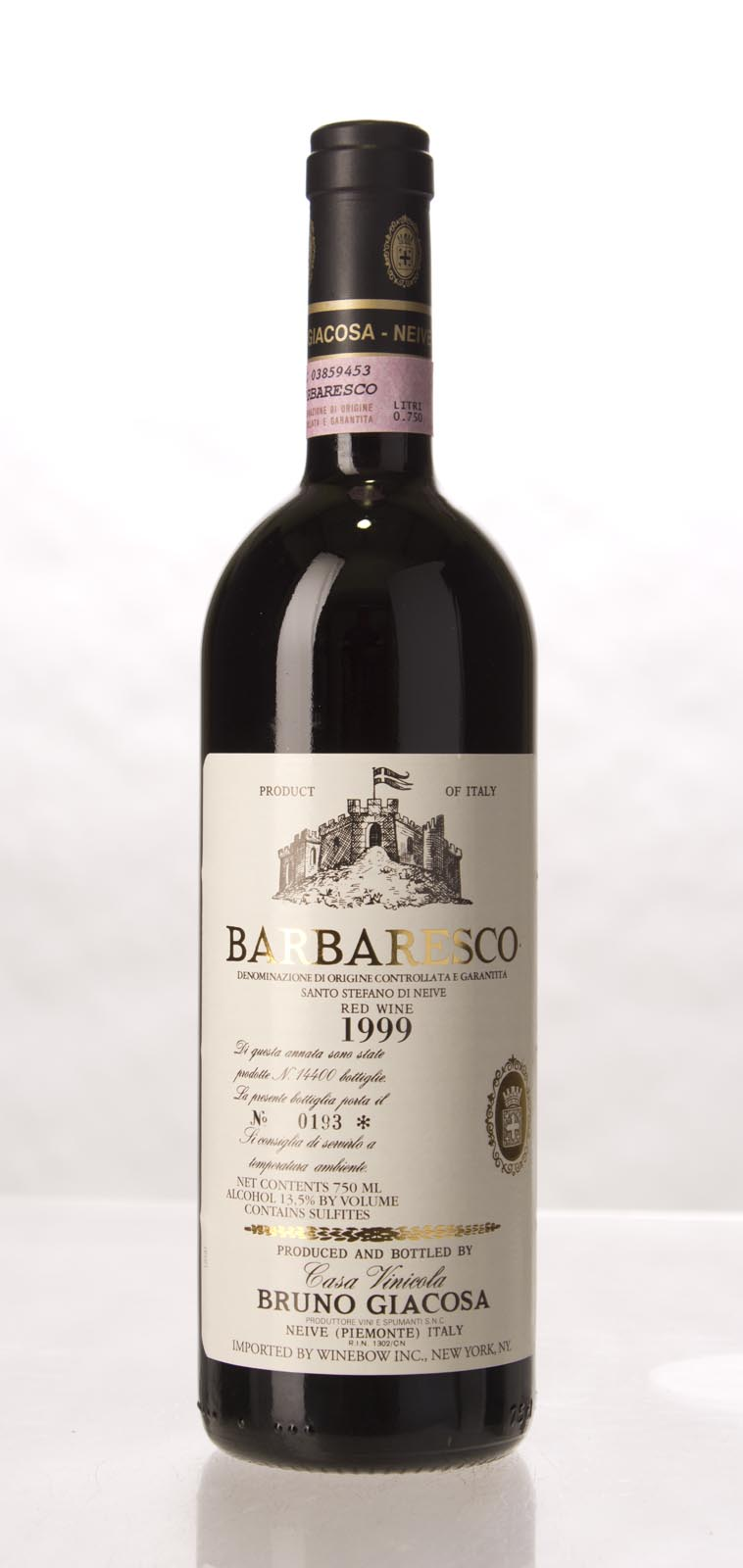 Bruno Giacosa Barbaresco Santo Stefano di Nieve 1999, 750mL (VN92, ST91) from The BPW - Merchants of rare and fine wines.