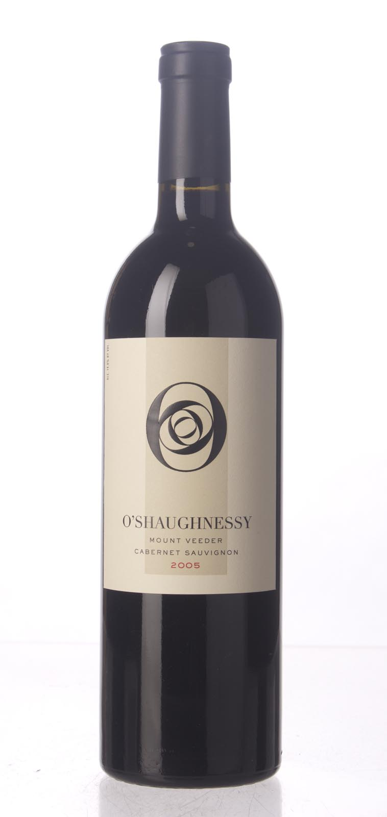 O`Shaughnessy Cabernet Sauvignon Mt. Veeder 2005, 750mL (WA95) from The BPW - Merchants of rare and fine wines.