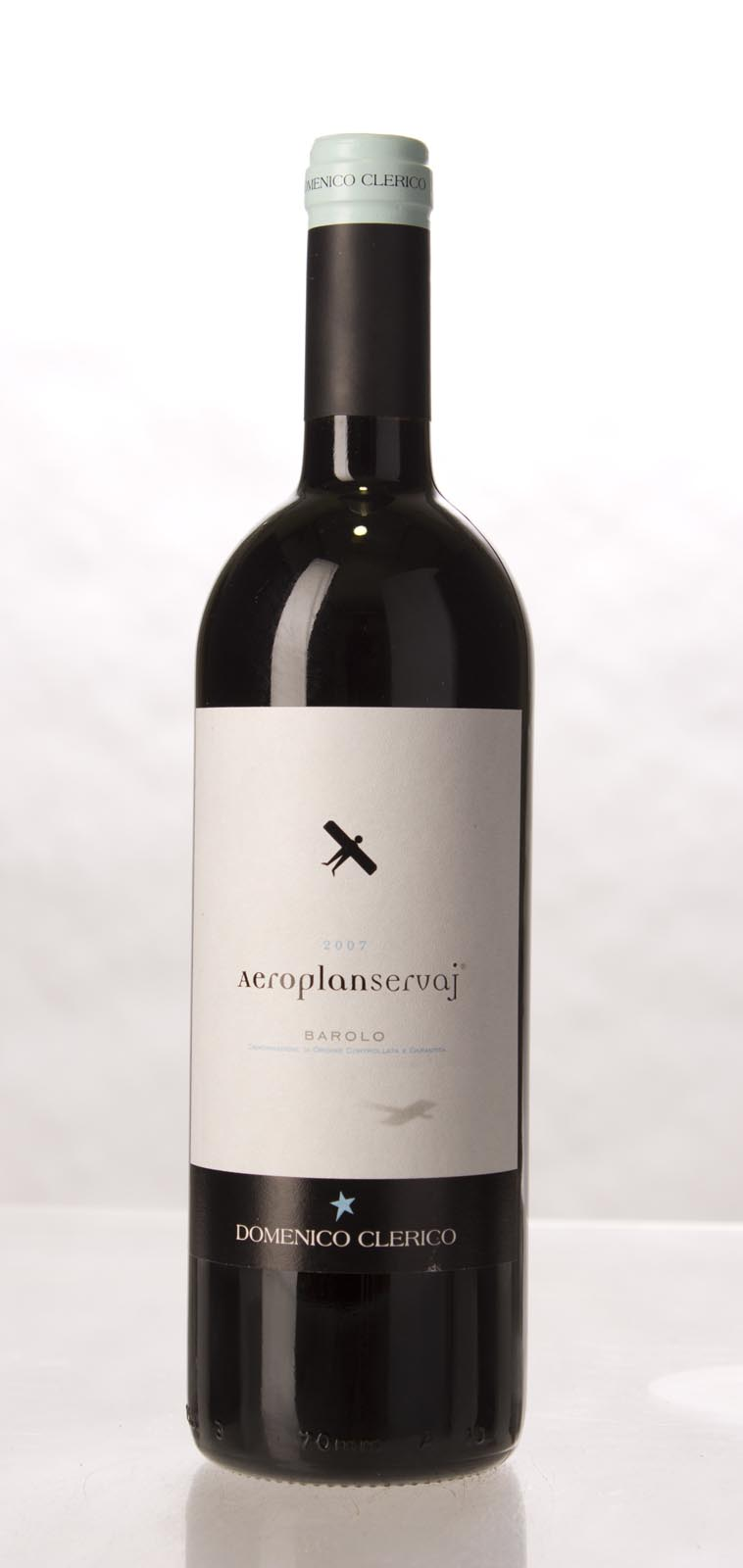 Domenico Clerico Barolo Aeroplan Servaj 2007, 750mL (JS93, WA93, ST95+) from The BPW - Merchants of rare and fine wines.