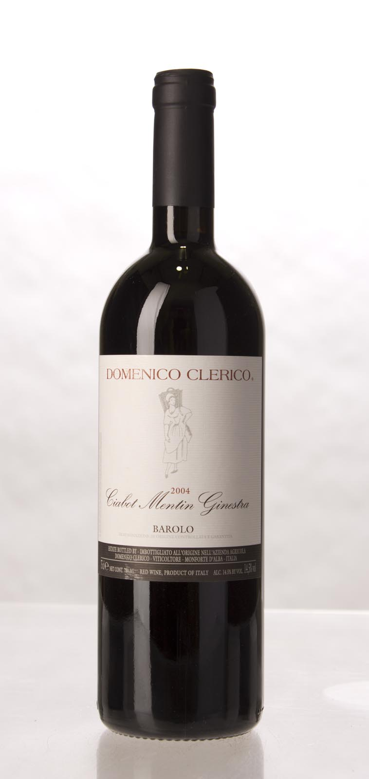 Domenico Clerico Barolo Ciabot Mentin Ginestra 2004, 750mL (WA97, VN98) from The BPW - Merchants of rare and fine wines.