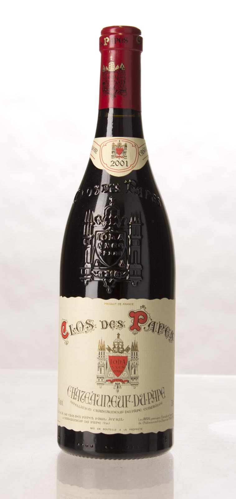 Clos des Papes Chateauneuf du Pape 2001, 750mL (WA95, ST93, WS93) from The BPW - Merchants of rare and fine wines.